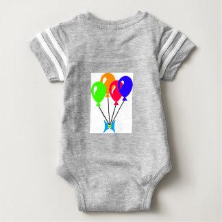 Flying high like a ballons baby bodysuit