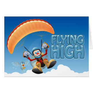 Flying High Paramotor Card