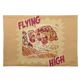 flying high rally car placemat