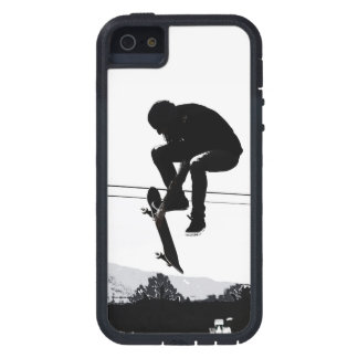 Flying High Skateboarder iPhone 5 Cases