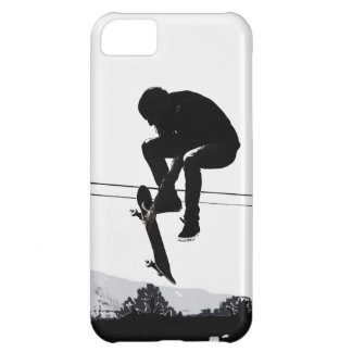 Flying High Skateboarder iPhone 5C Covers