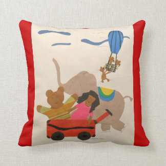 Flying High! Throw Pillow