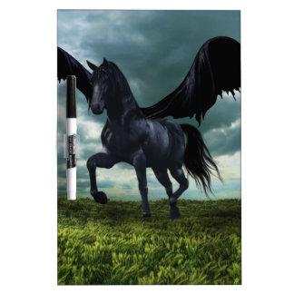 Flying horse dry erase boards
