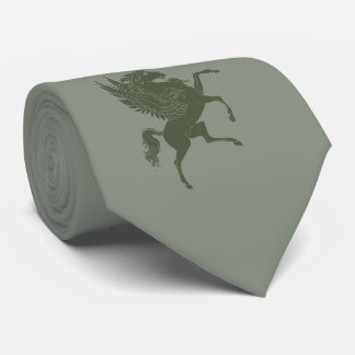 Flying Horse in Deep Green Tie
