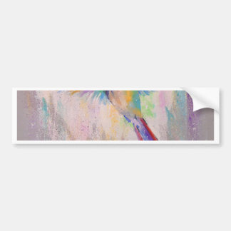 Flying Hummingbird Bumper Sticker