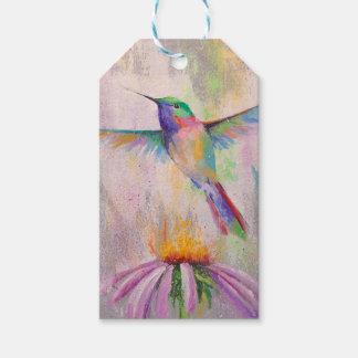 Flying Hummingbird Gift Tags