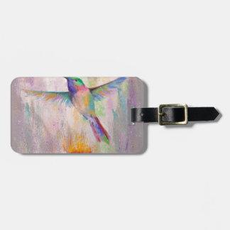 Flying Hummingbird Luggage Tag