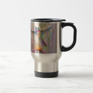 Flying Hummingbird Travel Mug