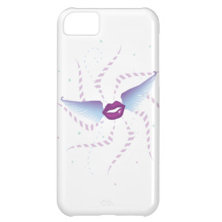 Flying Kisses, lips, wings iPhone 5C Cover