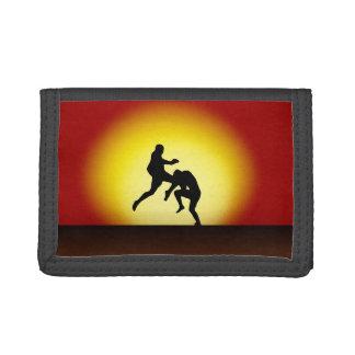 Flying Knee Sunset MMA/ Muay Thai Wallet