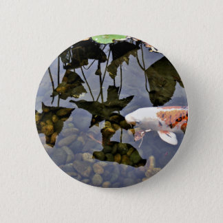 Flying Koi 2 Inch Round Button