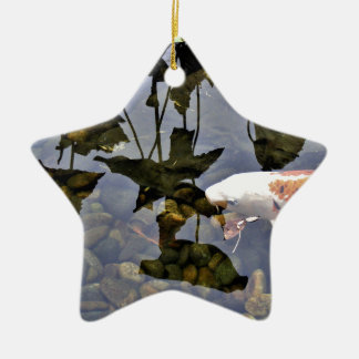 Flying Koi Ceramic Ornament