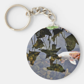 Flying Koi Keychain