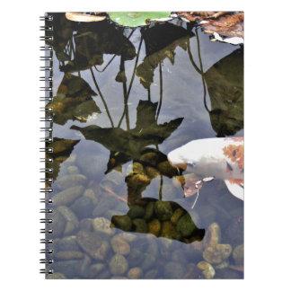 Flying Koi Spiral Notebook
