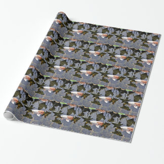Flying Koi Wrapping Paper