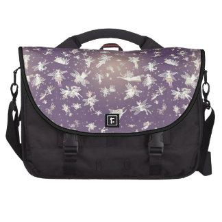Flying Light Faeries Pattern Laptop Bags