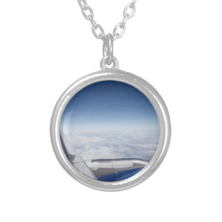 Flying Like A Bird Silver Plated Necklace