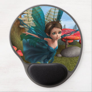 Flying Little Fairy Butterfly Tshirt Gel Mouse Mat