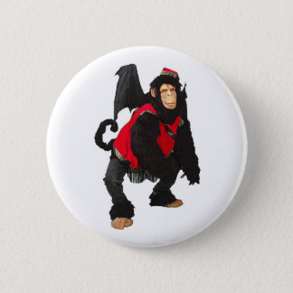 Flying Monkey 2 Inch Round Button