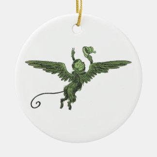 Flying Monkey, Wizard of Oz Ceramic Ornament