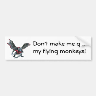 Flying Monkeys Bumper Sticker