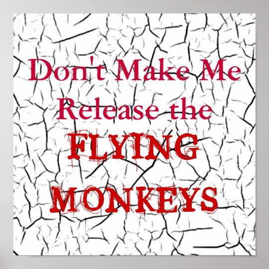 Flying Monkeys Poster