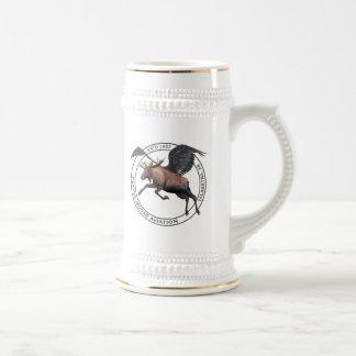 Flying Moose Aviation Beer Stein