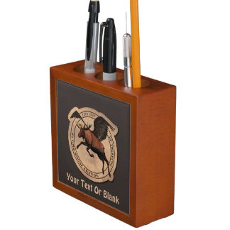 Flying Moose Aviation Patch Pencil Holder