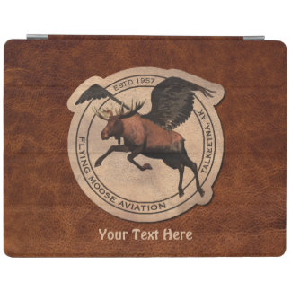 Flying Moose Aviation Patch iPad Cover
