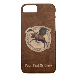 Flying Moose Aviation Patch iPhone 7 Case
