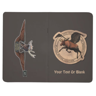 Flying Moose Aviation Patch Journals
