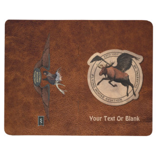 Flying Moose Aviation Patch Journal