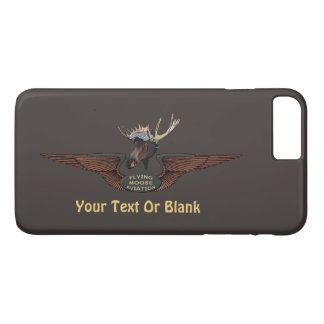 Flying Moose Bush Pilot Wings iPhone 7 Plus Case