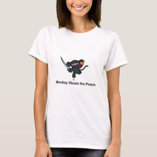 Flying Ninja Monkeys Steals the Peach T-Shirt