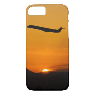 Flying off into the sunset iPhone 7 case
