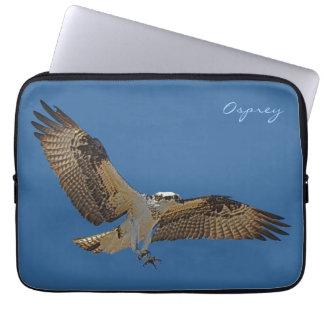 Flying Osprey & Blue Sky Raptor Wildlife Sleeve
