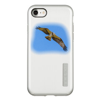 Flying osprey with a target in sight incipio DualPro shine iPhone 8/7 case
