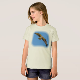 Flying osprey with a target in sight T-Shirt