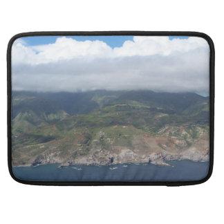 Flying over Hawaii Macbook Sleeve