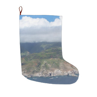 Flying over Hawaii Stocking