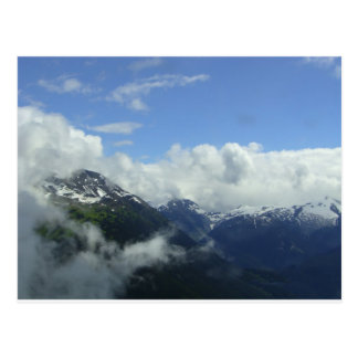 Flying Over the Blackcomb Mountains Postcard