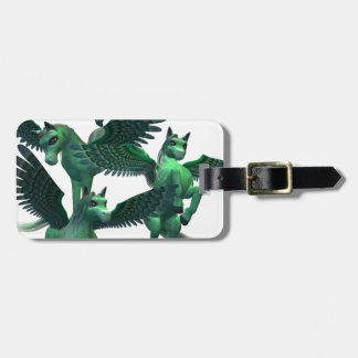 Flying Pegasus Bag Tag