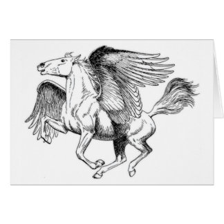 flying Pegasus Card
