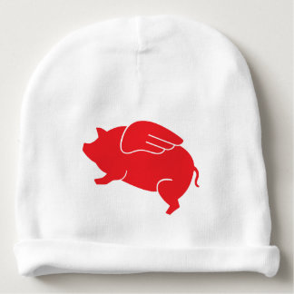 flying pig  🐷 baby beanie