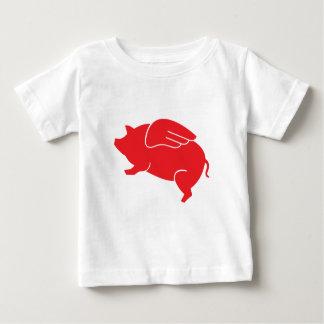 flying pig  🐷 baby T-Shirt