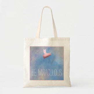 Flying Pig - Be Miraculous Tote Bag
