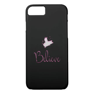 Flying Pig Believe Case-Mate iPhone Case