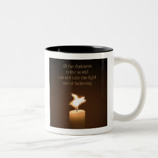 Flying Pig Candle Flame Mug