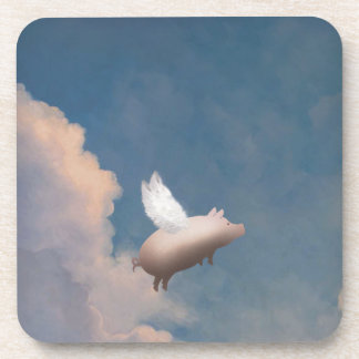 flying pig coasters