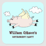 Flying Pig Custom Stickers